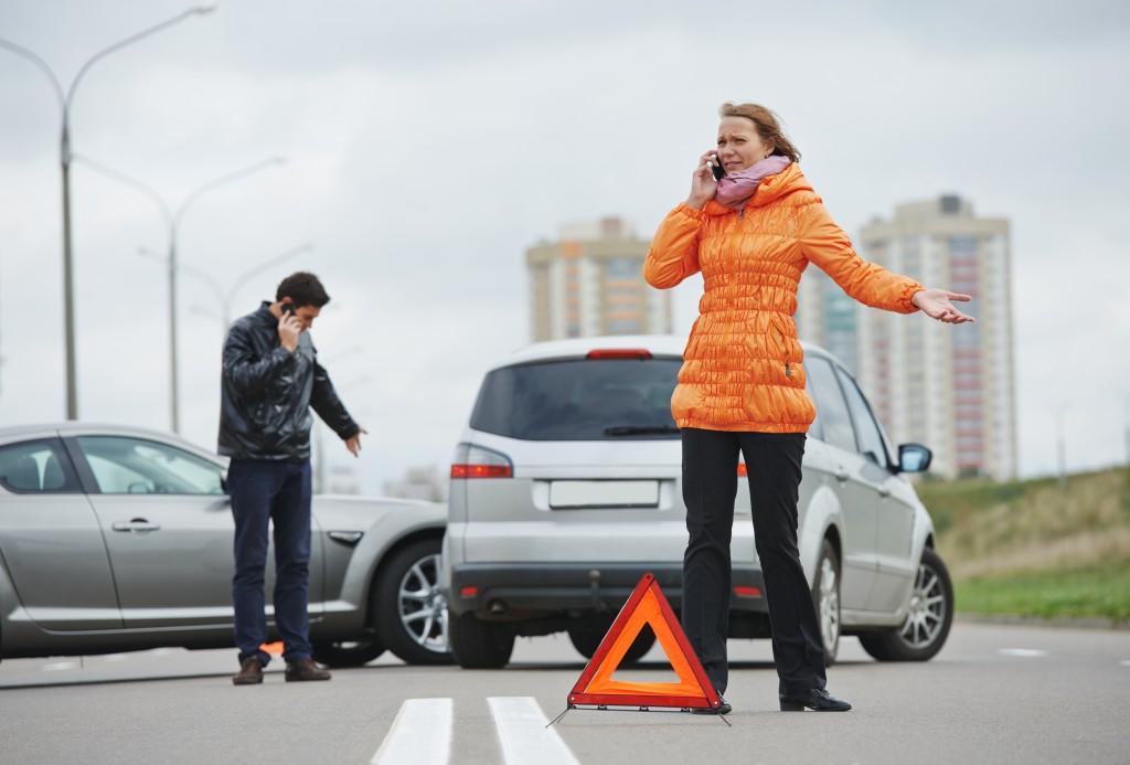 car accident concept