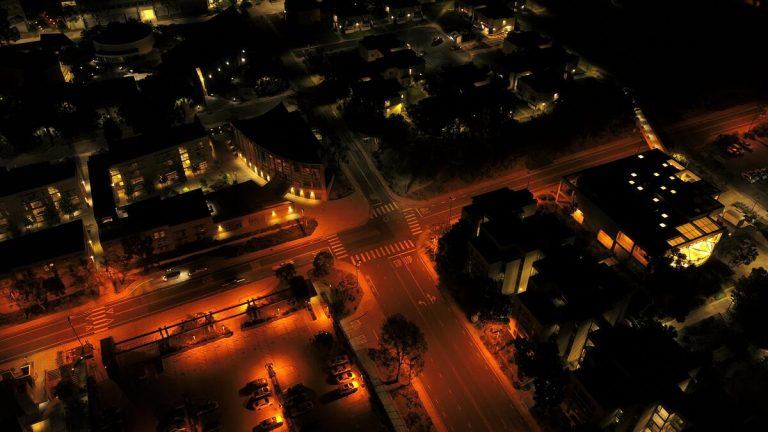 california at night